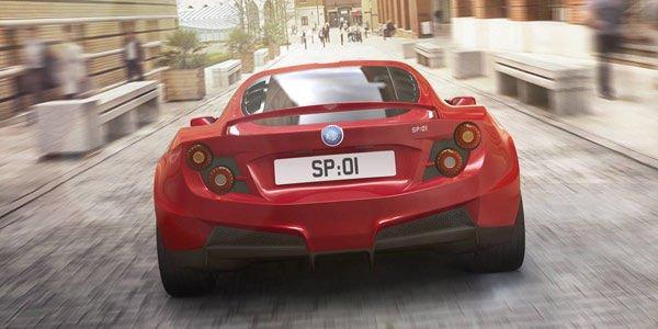 La Detroit Electric SP01 Fastback dévoilée