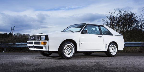 Bonhams : deux Audi quattro de légende aux enchères