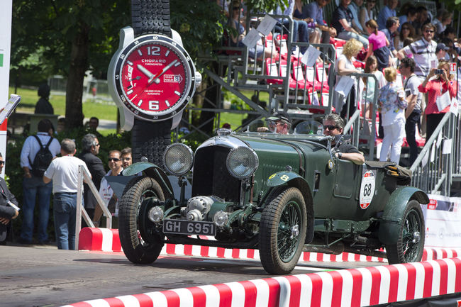 Deux Bentley Blower aux Mille Miglia 2019