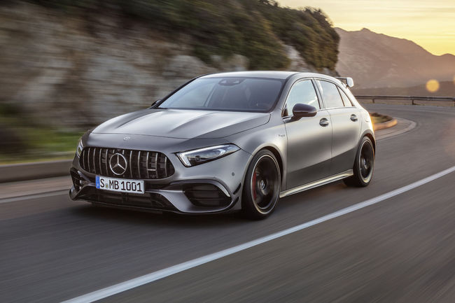 Mercedes-AMG A 45 4MATIC+ et CLA 45 4MATIC+
