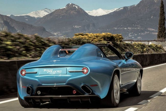 Alfa Romeo Disco Volante Spyder par Touring Superleggera
