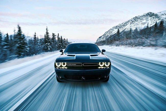 Dodge Challenger GT AWD, pour les sports d'hiver