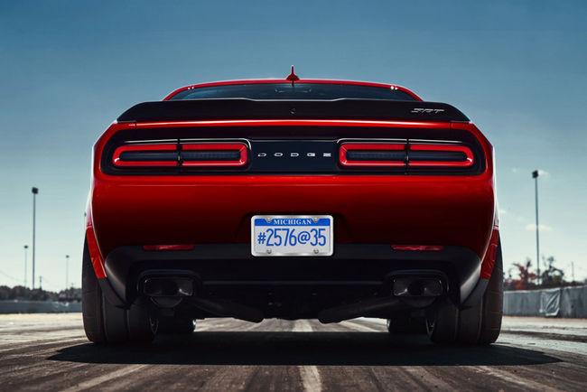Dodge Challenger SRT Demon : comme ça