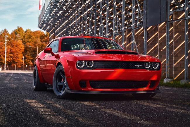 840 ch pour la Dodge Challenger SRT Demon