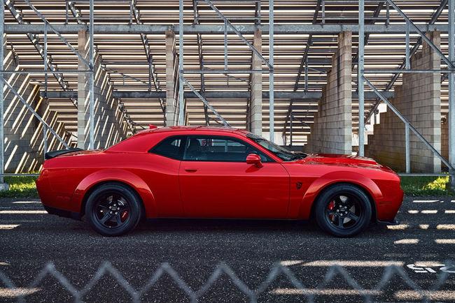 La Challenger SRT Demon sera facturée moins de 100 000 dollars