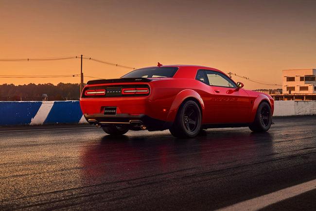 1 500 ch pour la Challenger SRT Demon revue par Hennessey