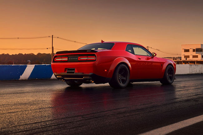 Dodge Challenger SRT Demon : dès 84 995 dollars