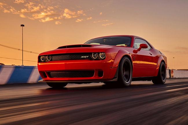 Embarquez dans la Dodge Challenger SRT Demon