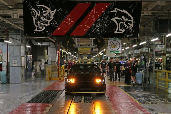 Clap de fin pour la Dodge Challenger SRT Demon