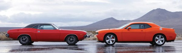 Dodge Challenger : le voile est levé