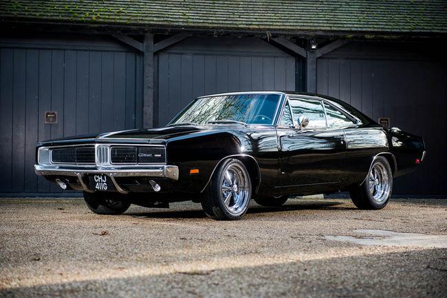 Une Dodge Charger ex-Jay Kay et Bruce Willis aux enchères
