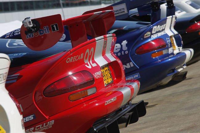 La Dodge Viper célébrée à Silverstone Classic