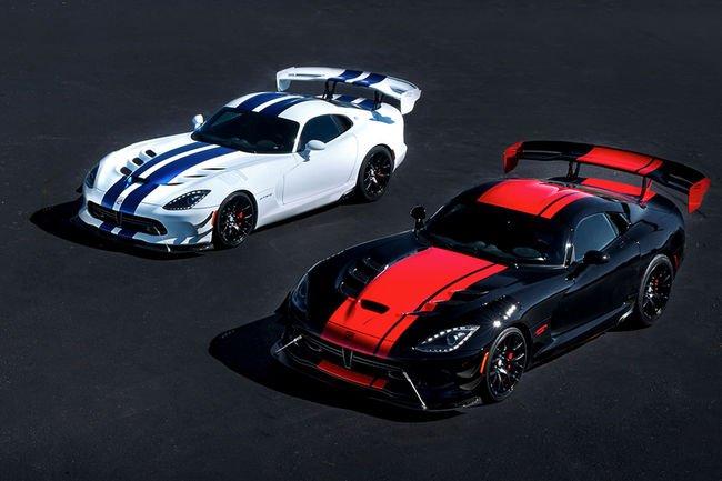Cinq éditions spéciales pour la Dodge Viper