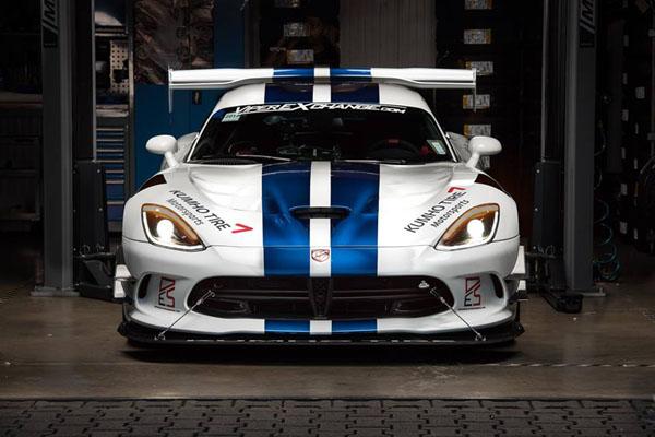 La Dodge Viper ACR s'illustre sur le Nürburgring