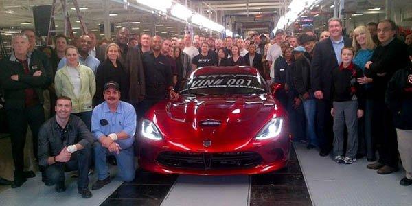 La première SRT Viper a été produite