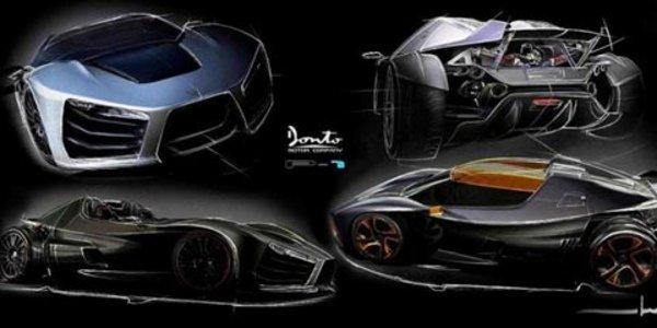 Donto Motors P1, face à l'arbalète