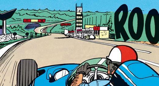 Un Dossier Michel Vaillant dédié à Spa