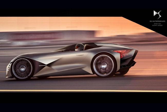 DS X E-Tense Concept : dream car de 2035