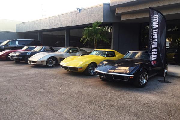 Importez votre voiture américaine avec Easy Import Auto