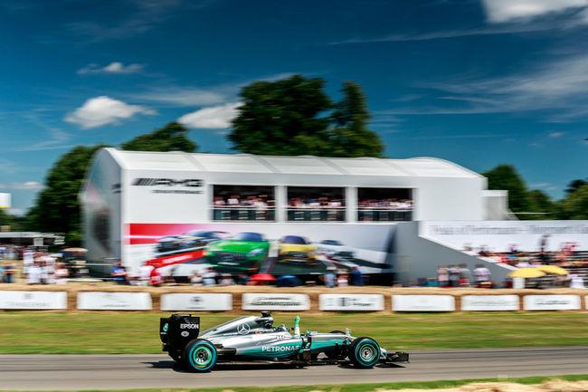 Embarquez avec Nico Rosberg à Goodwood