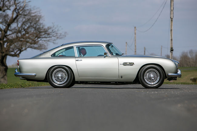 Silverstone Auctions : deux Aston Martin exceptionnelles à Heythrop Park