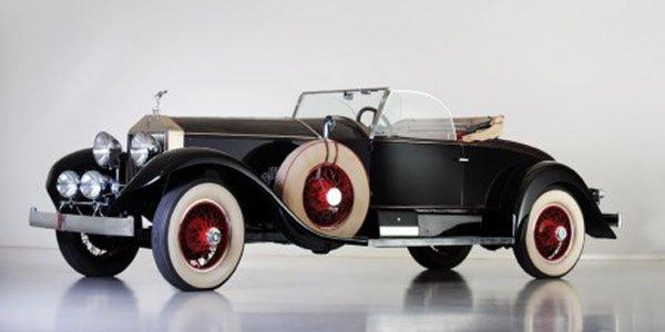 Une Rolls Roadster de 1928 aux enchères