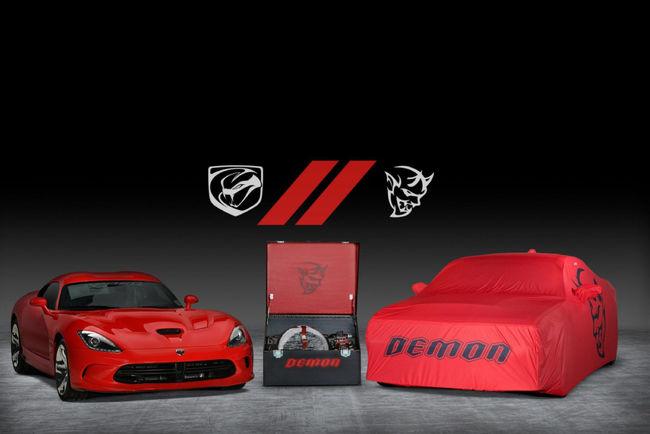 Les dernières Dodge Viper et Challenger SRT Demon aux enchères