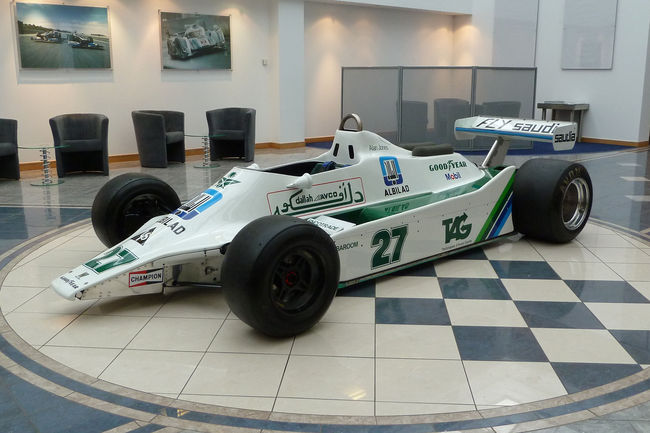 Le châssis Williams FW07/01 aux enchères