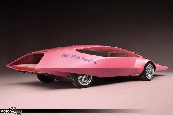 la pink panther car aux ench res actualit automobile motorlegend. Black Bedroom Furniture Sets. Home Design Ideas