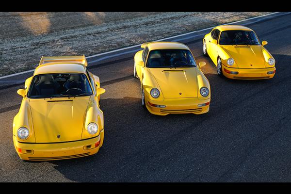 La  collection Porsche de Jan Koum aux enchères