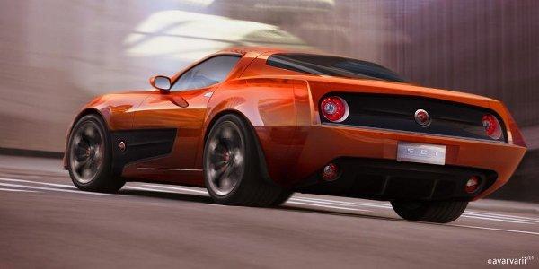 Endora SC-1, la Corvette revisitée