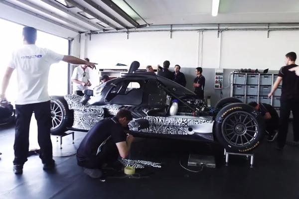 Endurance : premières images de l'Acura ARX-05 DPi 2018