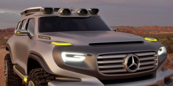 Ener-G-Force : le Mercedes G du futur