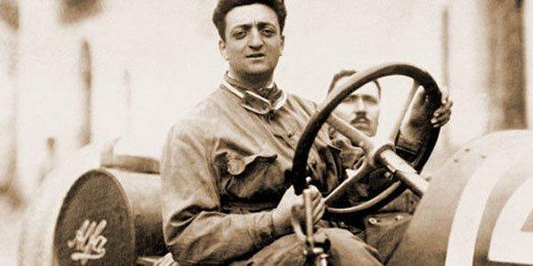 Enzo Ferrari roulait en Peugeot !
