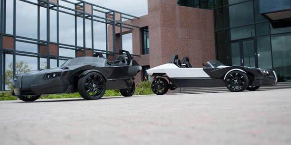 EPIC Ev TORQ : un trois roues électrique