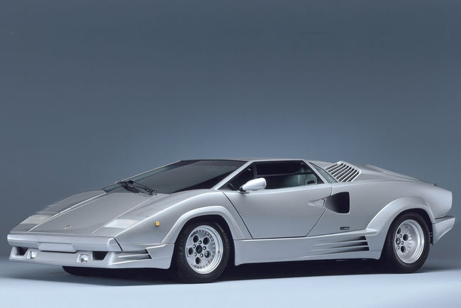 Un plateau Lamborghini de rêve au salon Epoqu'Auto