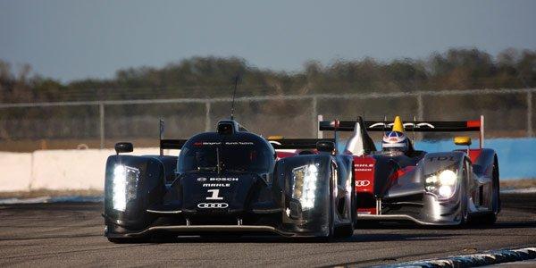 Les équipes des 24 Heures du Mans
