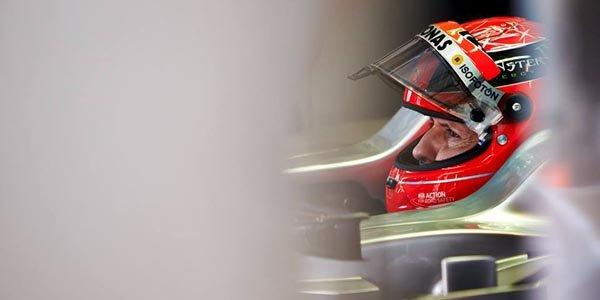 État stable pour Michael Schumacher