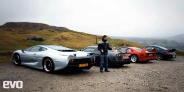 F40, GT2 RS, M600, XJ220 : Evo se lache