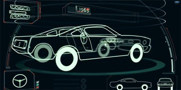 La lente évolution de la Ford Mustang