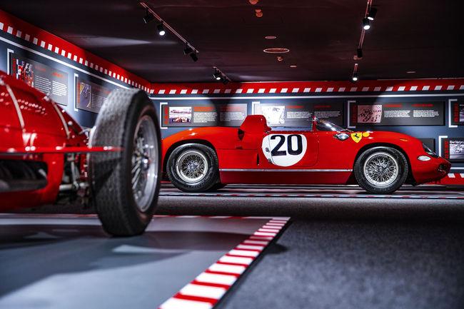 Exposition : Ferrari fête les 90 ans de la Scuderia