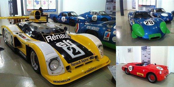 Le Musée de la Sarthe fête Alpine-Renault