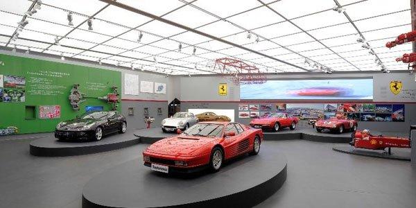Ferrari ouvre une exposition à Shanghaï