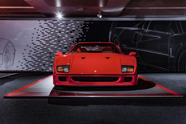 Exposition « Hypercars » au musée Ferrari de Maranello