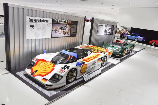 Exposition « Roadbook » au Porsche Museum