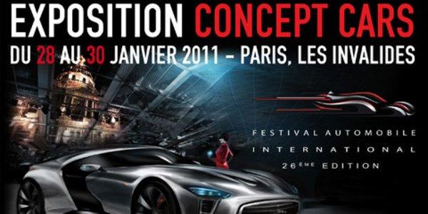Exposition Concept Cars aux Invalides
