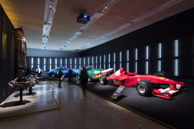 Exposition « Ferrari : Under the Skin » à Londres