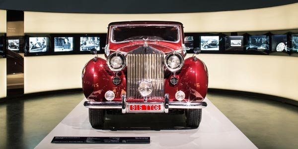 Une exposition Rolls-Royce au musée BMW