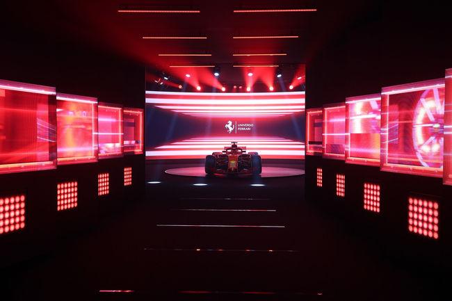 Exposition Universo Ferrari à Fiorano