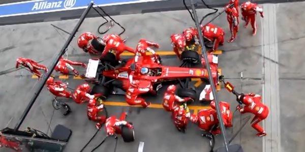 F1 : le ballet de l'arrêt au stand